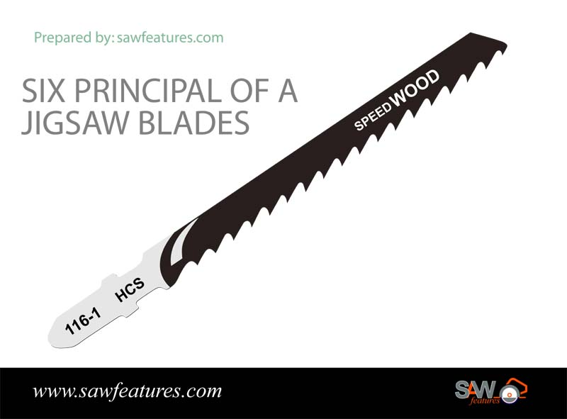six-principal of a jigsaw blades